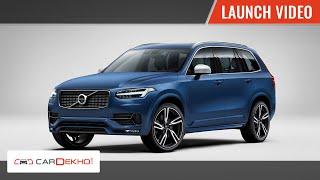 Volvo XC90 | Launch Video | CarDekho.com