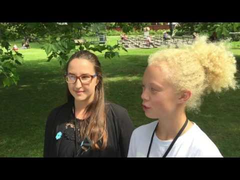 Knattereporter Filippa intervjuar skolministern