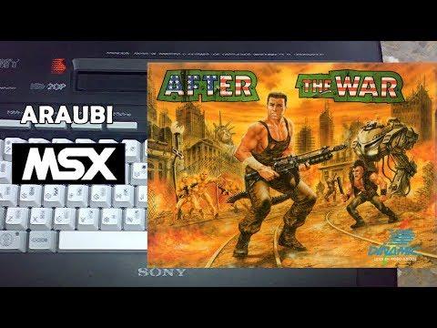 After the War (Dinamic, 1989) MSX [053] El Kiosko