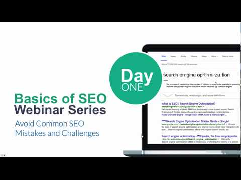 SEO Week: Avoid Common SEO Mistakes and Challenges