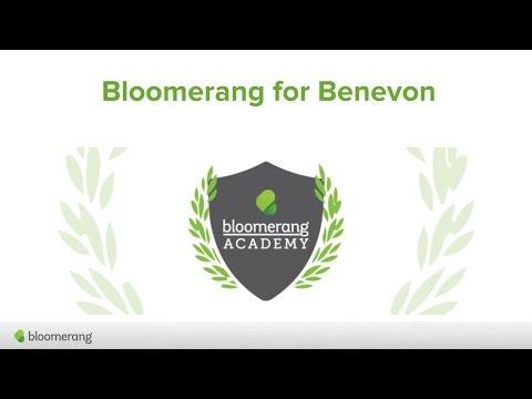 Bloomerang Intermediate Class: Bloomerang for Benevon