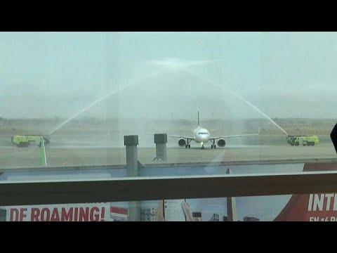 Primer vuelo internacional en Lima