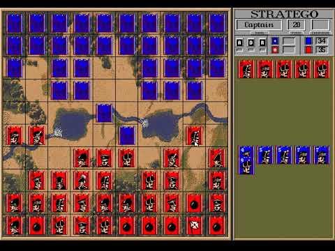Stratego (MindSpan) (MS-DOS) [1990]