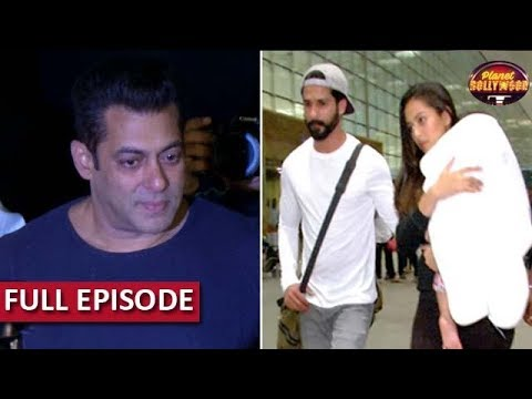 Salman Returns Rs 32.5 Crore To Distributors |Shahid-Mira Leave On Family Vacay For Misha's Birthday
