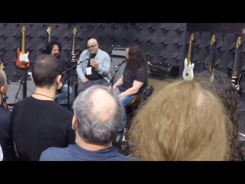 Petrucci & Lukather Q&A - Ernie Ball Music Man Booth - NAMM 2017