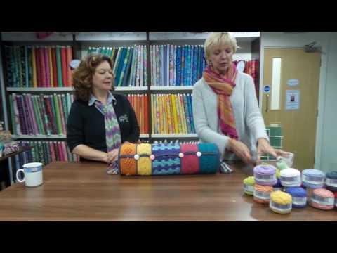 Turkish Delight Bolster Crochet Along with Heike Gittens