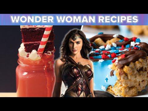 Wonder Woman Inspired Recipes ? Tasty Recipes