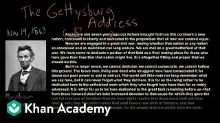 The Gettysburg Address part 2