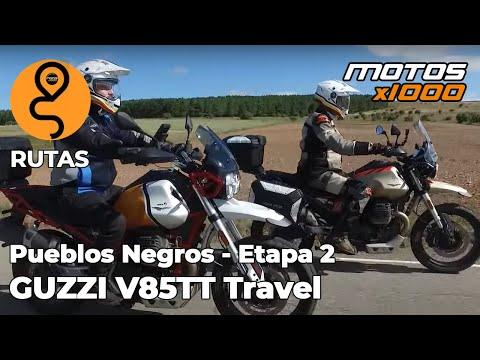 Ruta Pueblos Negros Guzzi V85TT Travel   Etapa 2