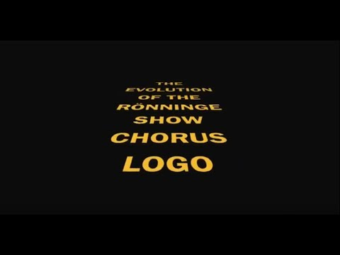 Rönninge Show Chorus New Logo 2018 | #ronningeshow35yrs