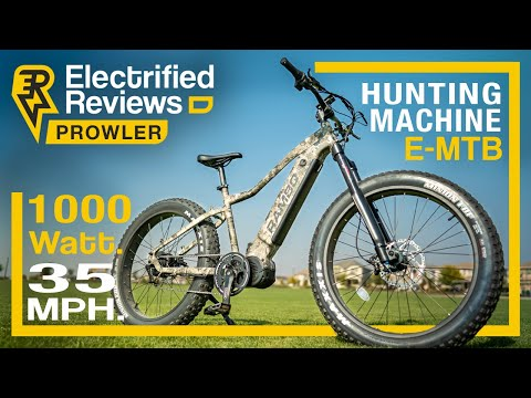 Rambo Prowler review: EXTREME HUNTING, BACKWOODS electric mountain bike