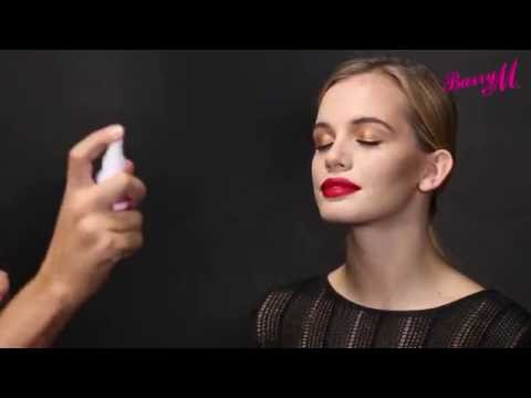 How To Use Barry M's Fixing Mists with Adam Burrell