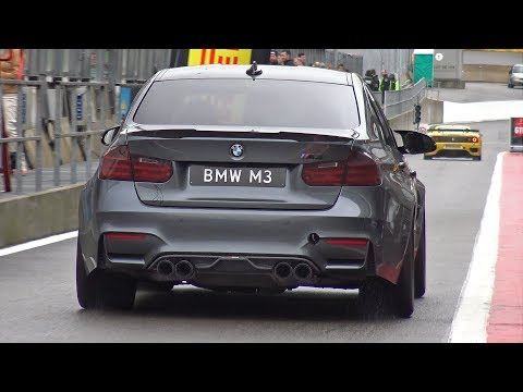 BMW M3 F80 w/ LOUD DECATTED AKRAPOVIC EXHAUST!