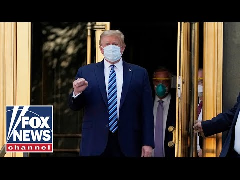 Live: Trump leaves Walter Reed Medical Center