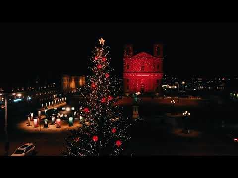 Varma julhälsningar från Karlskrona/Warm Christmas greetings from Karlskrona