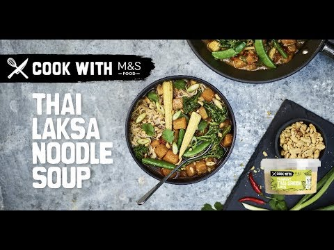 marksandspencer.com & Marks and Spencer Voucher Code video: M&S | Cook with M&S... Thai Laksa Noodle Soup