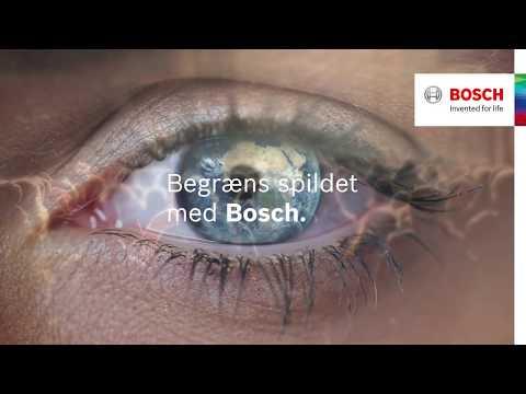Spild ikke værdifulde ressourcer. Bosch hvidevarer.