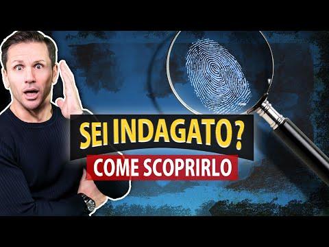 Come sapere se sei INDAGATO | Avv. Angelo Greco