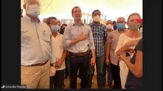 """Juramentación Comando de Campaña """"Venezuela Alza la Voz"""" La Guaira"""