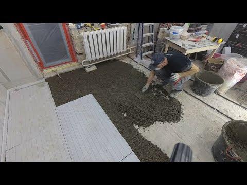 Как сделать легкую цементную стяжку  в старом доме. ПЕРЕДЕЛКА ХРУЩЕВКИ ОТ А до Я  #12 photo