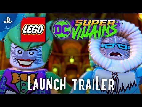 LEGO DC Super-Villains - Launch Trailer | PS4