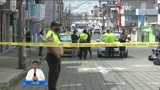 Hombre murió por presunto Covid-19 en la vía pública en el sur de Quito