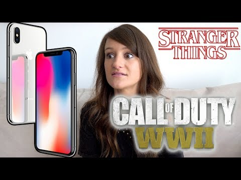 iPhone X, Call of Duty, and Stranger Things! 👀