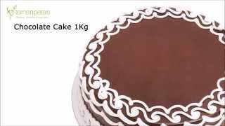 Chocolate Cake At Ferns N Petals