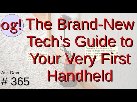 Brand New Tech's Guide to Your Very First Handheld (#365)