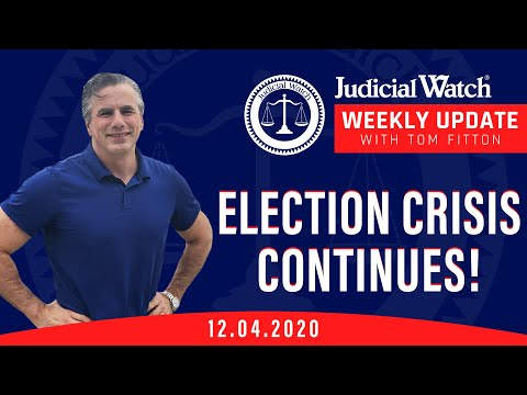Election Crisis Update! Dead People Voting in GA? DOJ AWOL on Voter Fraud, Durham FAIL