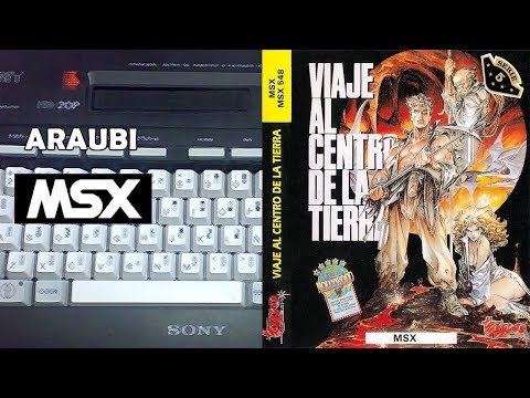 Viaje al Centro de la Tierra Edicion Extendida (Topo S XXI, 2017) MSX [077] Walkthrough Comentado