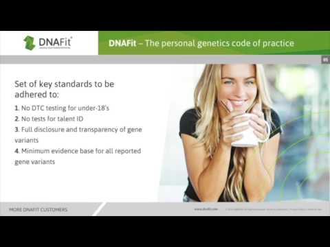 DNAFit Code Of Practice.