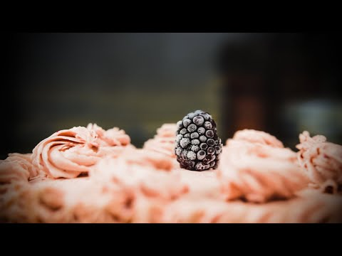 Blackberry Dream Cake Making Of | CAKE B ROLL