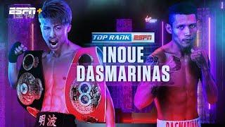 Naoya Inoue vs  Michael Dasmarina este sabado via ESPN y Top Rank