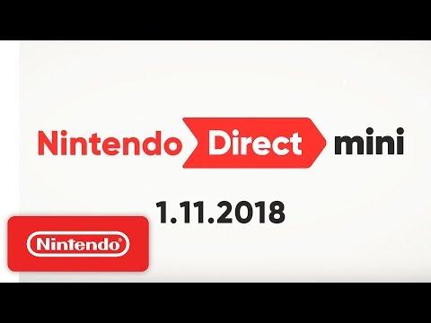 connectYoutube - Nintendo Direct Mini 1.11.2018
