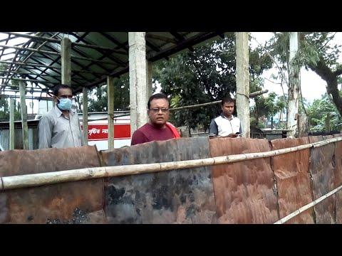 হবিগঞ্জ জেলা যুবলীগ সভাপতির ভাই বাবুলের আদালতের নিষেধাজ্ঞা অমান্য করে ভোর রাতে জায়গা দখল