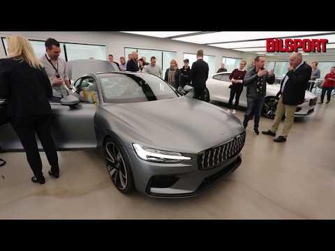 Bilsport besökte invigningen av Polestars nya huvudkontor
