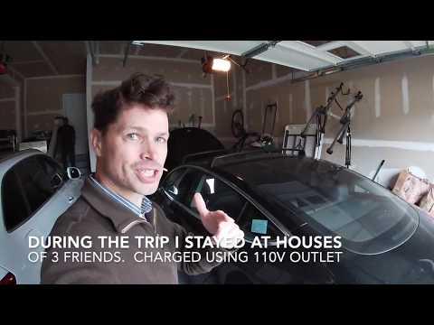 250mi Road Trip Tesla Model 3 Mid-Range DC to NYC
