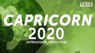 CAPRICORN 2020 Horoscope Predictions | Latinx Now! | Telemundo English