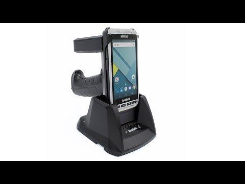 NAUTIZ X2: New Pistol Grip with optional UHF RFID Scanner