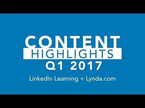 2017 Q1 Content Highlights