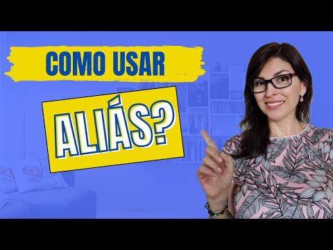 ALIÁS - APRENDA A USAR ESSA PALAVRA!