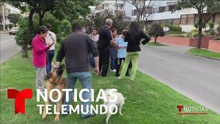 Sismo de magnitud 6.0 sacude a Colombia en víspera de Navidad   Noticias Telemundo