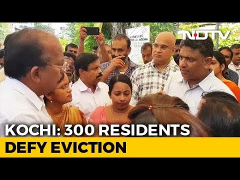 350 Families Cling On To Posh Homes In Kochi As Demolition Deadline Ends