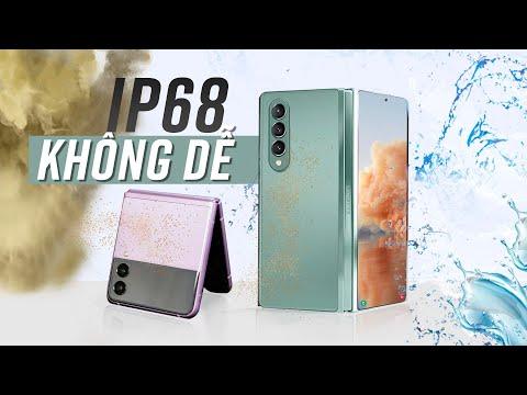 Galaxy Z Fold 3 & Z Flip 3 chỉ có kháng nước IPX8? Chuẩn IP68 đâu rồi?