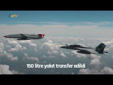 NTV   İlk kez gerçekleşti: Drone tankerden havada yakıt ikmali