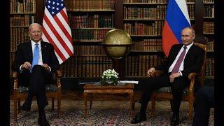 Los Presidentes Joe Biden y Vladimir Putin se reúnen en Ginebra