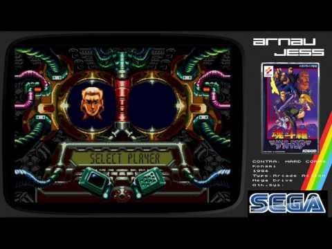 CONTRA: HARD CORPS Mega Drive by KONAMI