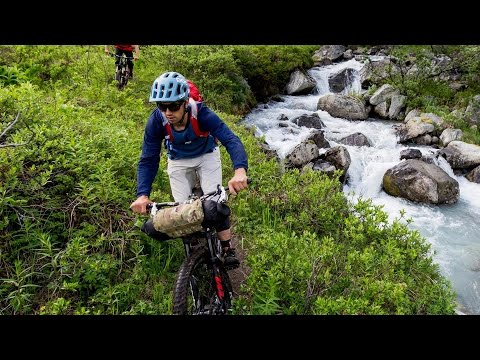 Mountain Biking to a Remote Hut in Alaska Wilderness   Backcountry Hut: Part 1