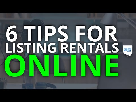 6 Tips for Listing Your Rental Property Online | Daily Podcast